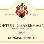 彭寿科尔登-查理曼园干白葡萄酒(Domaine Ponsot Corton-Charlemagne,Cote de Beaune,France)