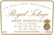 皇家托卡伊阿苏艾森西雅贵腐葡萄酒(The Royal Tokaji Wine Company Tokaji Aszu Essencia, Tokaj-Hegyalja, Hungary)