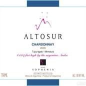 索菲亚阿图索霞多丽干白葡萄酒(Finca Sophenia Altosur Chardonnay,Tupungato,Argentina)