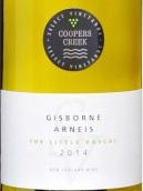 庫伯斯溪小壞蛋阿內斯干白葡萄酒(Coopers Creek The Little Rascal Arneis, Gisborne, New Zealand)