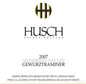 哈奇琼瑶浆干白葡萄酒(Husch Gewurztraminer, Anderson Valley, USA)