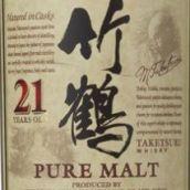 一甲竹鹤21年调和纯麦威士忌(Nikka Whisky Taketsuru 21 Years Old Pure Malt,Japan)