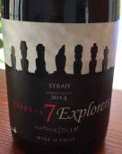 探险七人珍藏西拉干红葡萄酒(7 Explorers Reserva Syrah,Curico Valley,Chile)