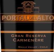 奥拓顶级珍藏佳美娜干红葡萄酒(Portal del Alto Gran Reserva Carmenere,Maule Valley,Chile)