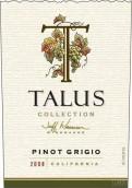 塔卢斯灰皮诺干白葡萄酒(Talus Collection Pinot Grigio, Lodi, USA)