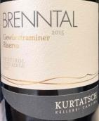 Kurtatsch-Cortaccia 'Brenntal' Gewurztraminer Riserva,...