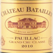 巴特利酒庄红葡萄酒(Chateau Batailley,Pauillac,France)