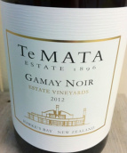 德迈酒庄伍德索普黑佳美干红葡萄酒(Te Mata Estate Woodthorpe Gamay Noir, Hawke's Bay, New Zealand)