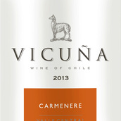 干露羊驼佳美娜红葡萄酒(Vicuna Carmenere, Central Valley, Chile)