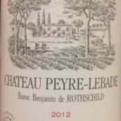 岩石古堡干红葡萄酒(Chateau Peyre-Lebade,Haut Medoc,France)