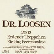 露森艾登纳天阶园雷司令逐粒精选甜白葡萄酒(Dr. Loosen Erdener Treppchen Riesling Beerenauslese, Mosel, Germany)