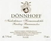 杜荷夫尼德豪塞何曼索雷司令逐粒精选甜白葡萄酒(Weingut Donnhoff Niederhauser Hermannshohle Riesling ...)