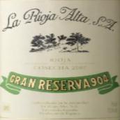 橡树河畔904特级珍藏干红葡萄酒(La Rioja Alta S.A.Gran Reserva 904,Rioja,Spain)