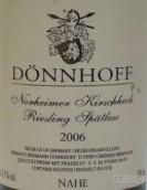 杜荷夫诺黑樱桃雷司令迟摘白葡萄酒(Weingut Donnhoff Norheimer Kirschheck Riesling Spatlese, Nahe, Germany)