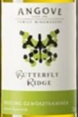 安戈瓦蝶舞雷司令-琼瑶浆混酿干白葡萄酒(Angove Butterfly Ridge Riesling - Gewurztraminer, South Australia)