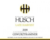 哈奇迟摘琼瑶浆干白葡萄酒(Husch Late Harvest Gewurztraminer, Anderson Valley, USA)