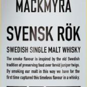 麦克米拉瑞典烟熏瑞典单一麦芽威士忌(Mackmyra Svensk Rok Swedish Single Malt Whisky,Sweden)