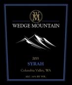 楔形山酒庄西拉干红葡萄酒(Wedge Mountain Winery Syrah, Columbia Valley, USA)