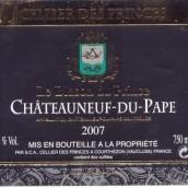 王子酒窖王子徽章教皇新堡干红葡萄酒(Cellier des Princes Le Blason du Prince,Chateauneuf-du-Pape,...)