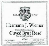 赫尔曼特酿桃红葡萄酒(Hermann J. Wiemer Cuvee Brut Rose, Finger Lakes, USA)