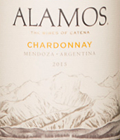 阿拉莫斯霞多丽干白葡萄酒(Alamos Winery Chardonnay,Mendoza,Argentina)