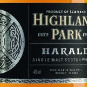 高原骑士哈拉尔德苏格兰单一麦芽威士忌(Highland Park Harald Single Malt Scotch Whisky,Orkney,UK)