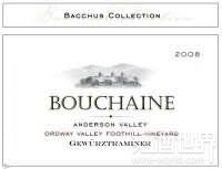 波尔金酒神巴克斯精选琼瑶浆红葡萄酒(Bouchaine Bacchus Collection Gewurztraminer,Anderson Valley,...)