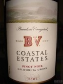 柏里欧海岸黑皮诺干红葡萄酒(Beaulieu Vineyard BV Coastal Estates Pinot Noir,Napa Valley,...)