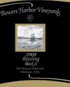 鲍尔斯港酒庄中甜雷司令白葡萄酒(Bowers Harbor Medium Sweet Riesling, Michigan, USA)
