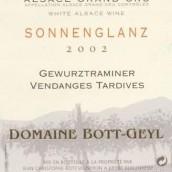 Domaine Bott Geyl Gewurztraminer Sonnenglanz Vendanges ...