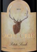 卡切溪小西拉干红葡萄酒(Cache Creek Vineyards Petite Sirah,Lake County,USA)