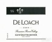 都楼早收琼瑶浆干白葡萄酒(DeLoach Vineyards Early Harvest Gewurztraminer,Russian River...)
