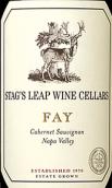 鹿跃酒窖仙女园赤霞珠干红葡萄酒(Stag's Leap Wine Cellars Fay Cabernet Sauvignon, Napa Valley, USA)