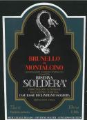索得拉布鲁奈罗蒙塔希诺珍藏红葡萄酒(Soldera Brunello di Montalcino Riserva DOCG, Tuscany, Italy)