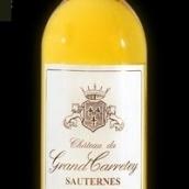 格兰德城堡甜白葡萄酒(Chateau du Grand Carretey,Sauternes,France)