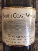 南部海岸丹魄红葡萄酒(South Coast Winery Tempranillo,California,USA)