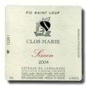 Clos Marie Pic Saint-Loup Cuvee Simon, Languedoc-Roussillon, France