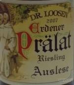 露森艾登纳教士园雷司令精选白葡萄酒(Dr.Loosen Erdener Pralat Riesling Auslese,Mosel,Germany)
