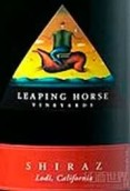 跃马西拉干红葡萄酒(Ironstone Leaping Horse Vineyards Shiraz, California, USA)