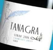 维拉德塔纳格拉西拉干红葡萄酒(Villard Tanagra Syrah,Casablanca Valley,Chile)