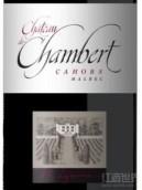 香贝古堡干红葡萄酒(Chateau de Chambert, Cahors, France)