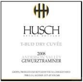 哈奇T-萌芽酒窖琼瑶浆干白葡萄酒(Husch T-Bud Dry Cuvee Gewurztraminer,Anderson Valley,USA)