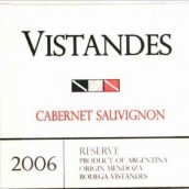 安第斯山景赤霞珠干红葡萄酒(Bodega Vistandes Cabernet Sauvignon,Cruz de Piedra,Argentina)