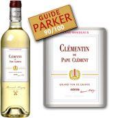 克莱蒙丹干白葡萄酒(Le Clementin de Pape-Clement Blanc, Pessac-Leognan, France)
