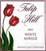 郁金香山奥索峰园白色幻想甜红葡萄酒(Tulip Hill Mount Oso Vineyard White Mirage,Tracy Hills,USA)