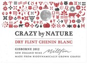 米尔顿自然之园白诗南干白葡萄酒(Millston Vineyard Crazy By Nature Dry Flint Chenin Blanc,...)
