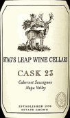 鹿跃酒窖23号桶赤霞珠干红葡萄酒(Stag's Leap Wine Cellars Cask 23 Cabernet Sauvignon, Napa Valley, USA)