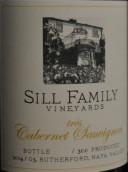 希尔家族卢瑟福佳酿赤霞珠干红葡萄酒(Sill Family Vineyards Rutherford Tres Cabernet Sauvignon,...)