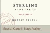 思令酒庄白麝香干白葡萄酒(Sterling Vineyards Muscat Canelli, Napa Valley, USA)