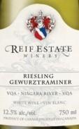 瑞芙雷司令-琼瑶浆干白葡萄酒(Reif Estate Winery Riesling-Gewurztraminer,Niagara River,...)